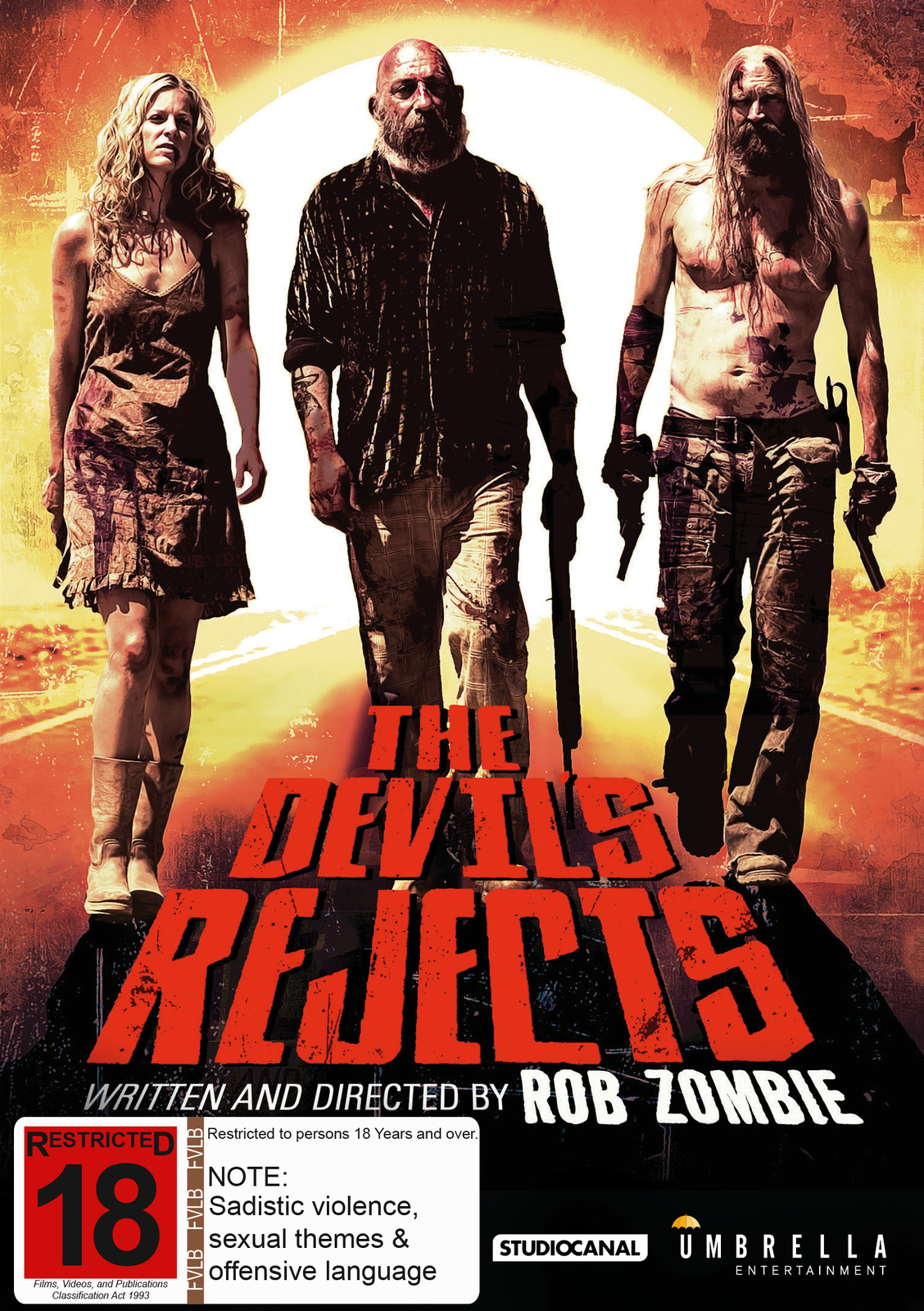 The Devil's Rejects on DVD image