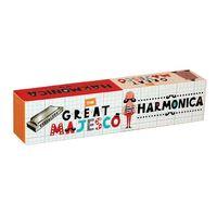 The Great Majesco: Harmonica image