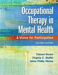 Occupational Therapy in Mental Health by Catana Brown image