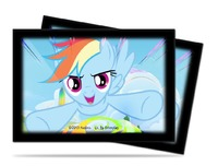 Ultra Pro: Small Deck Protector - My Little Pony: Rainbow Dash (60ct)