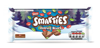Smarties Festive Block 100g