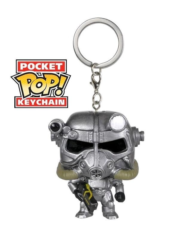 Fallout - Power Armor Pocket Pop! Key Chain