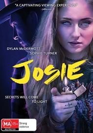 Josie on DVD