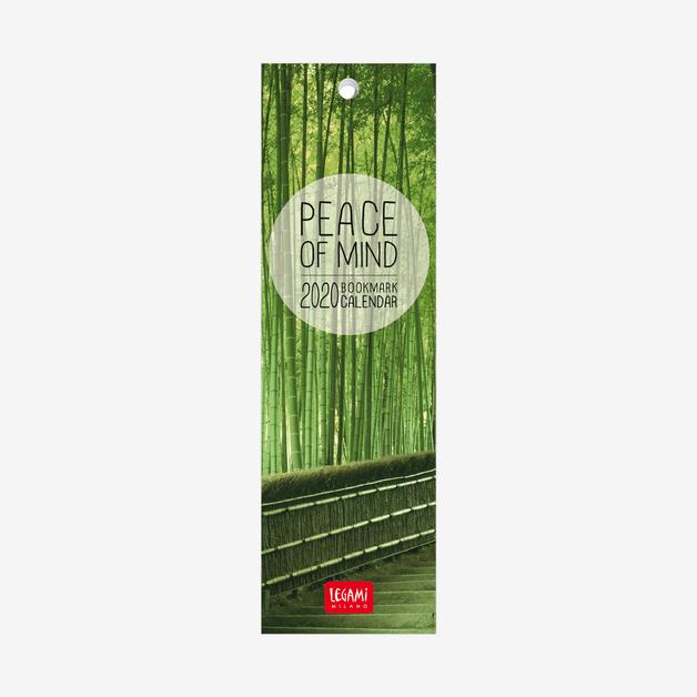 Legami: Peace of Mind 2020 Bookmark Calendar