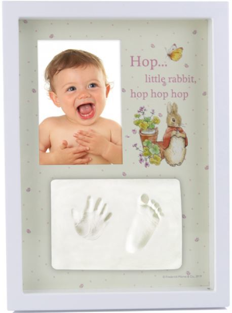 Beatrix Potter: Giftset: Baby Hand/Foot Clay Frame image