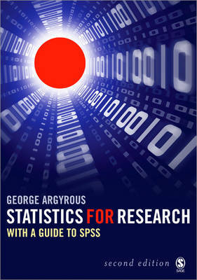 Statistics for Research: With a Guide to SPSS by George Argyrous image