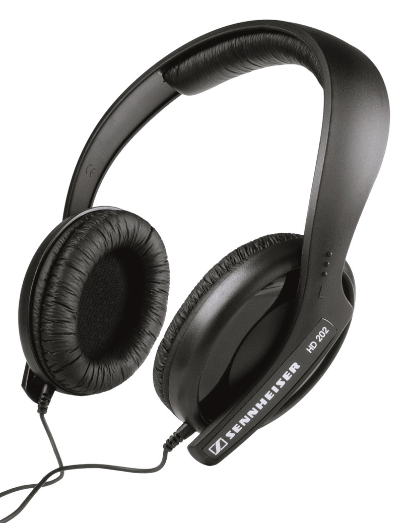 Sennheiser HD 202 Headphones image