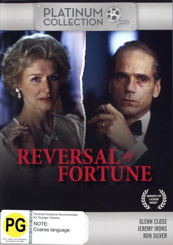 Reversal Of Fortune on DVD