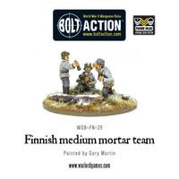 Finnish Army - Medium mortar team