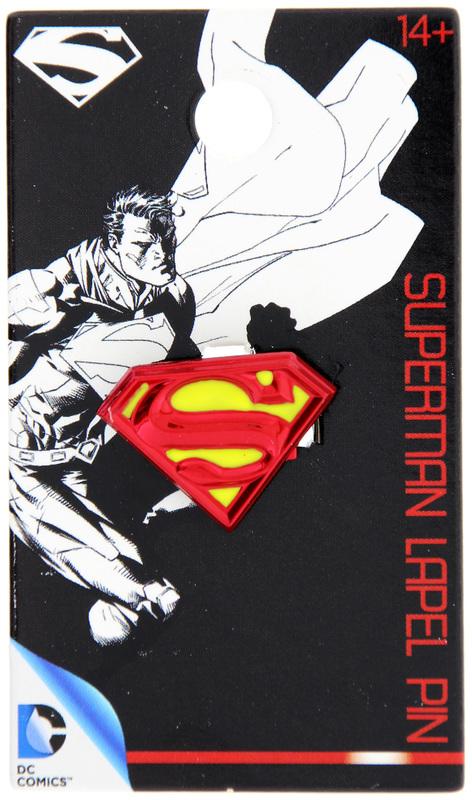 Superman - Logo Colour Enamel Lapel Pin