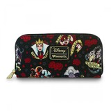 Loungefly Disney Villains Tattoo Zip Wallet