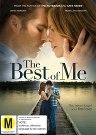 The Best of Me on DVD