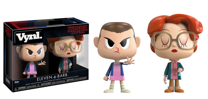 Stranger Thing: Eleven + Barb - Vynl. Figure 2-Pack image