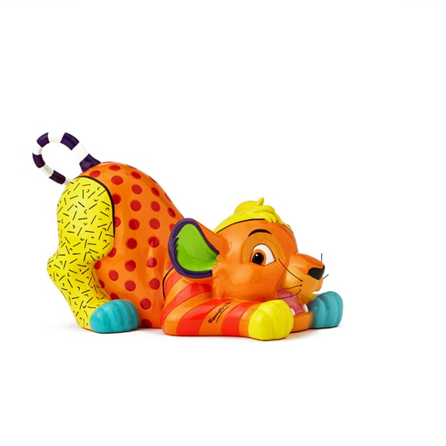 Romero Britto - Simba Medium Figurine