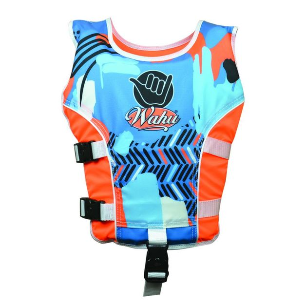 Wahu: Swim Vest Small (15-25kg) - Orange