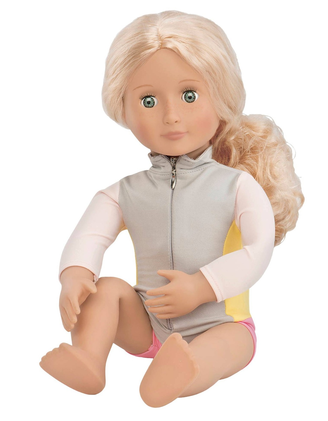 "Our Generation: 18"" Deluxe Doll - Coral Surfer image"