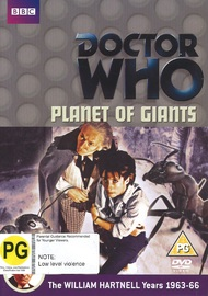 Doctor Who: Planet of Giants on DVD