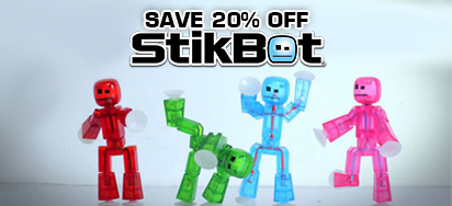 20% off Stikbot!