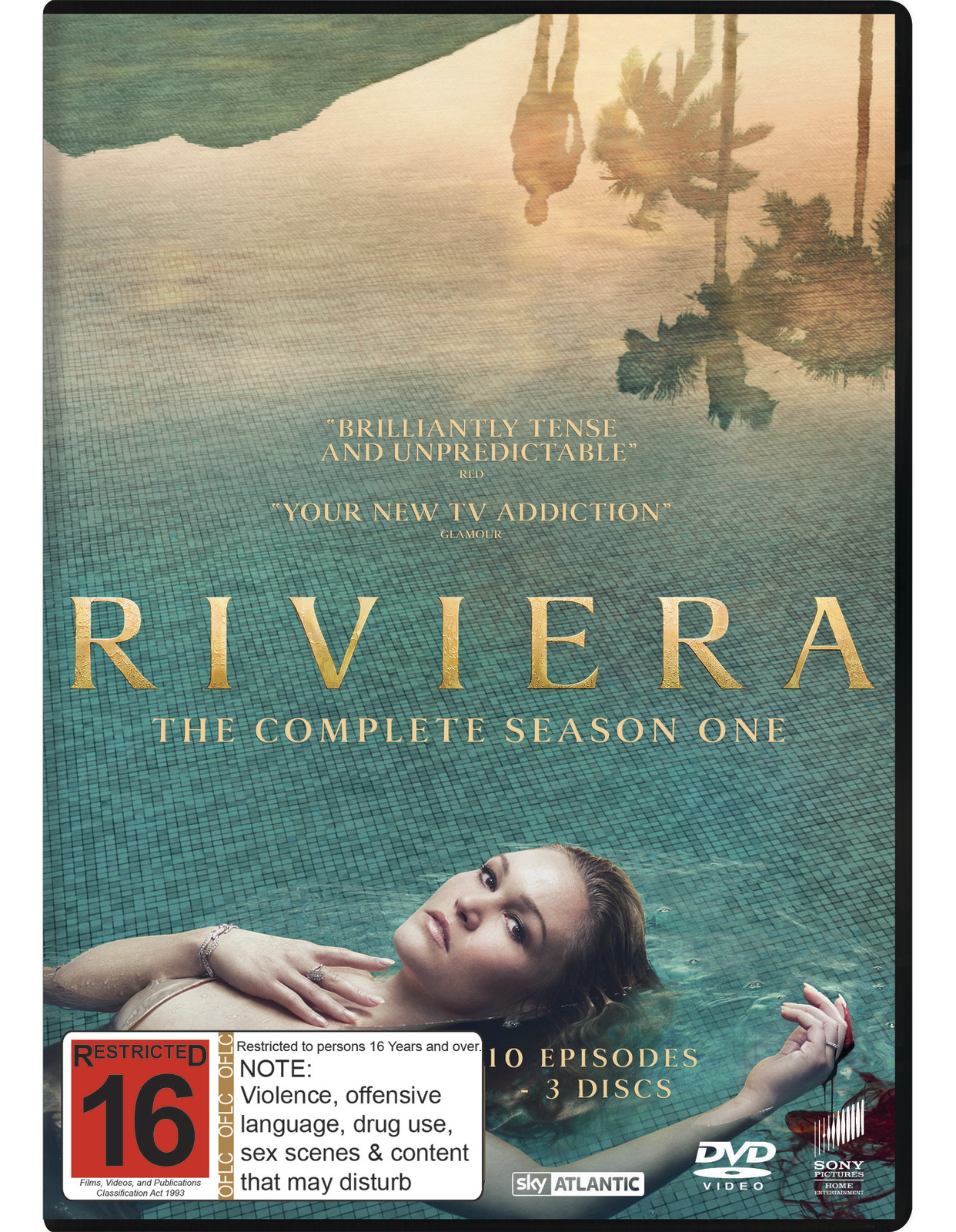 Riviera: The Complete First Season on DVD image