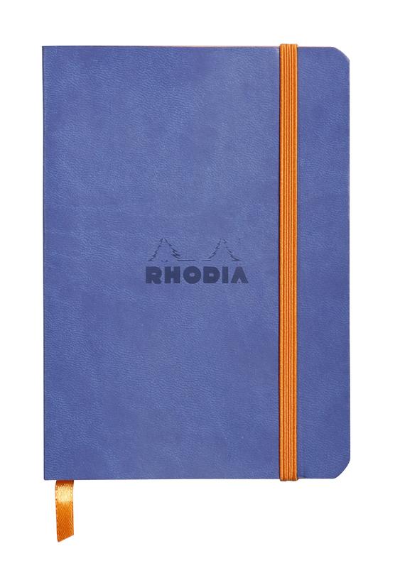 Rhodiarama A6 Softcover Notebook Dot Grid - Sapphire Blue