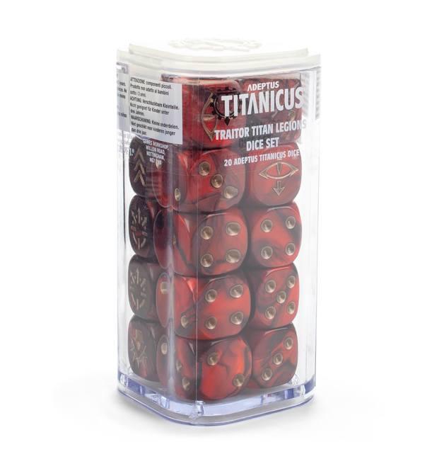 Warhammer 40,000 Adeptus Titanicus: Traitor Legions - Dice
