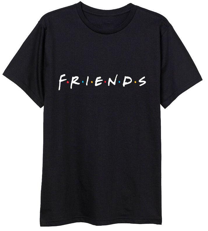 Friends: Logo - Adult T-Shirt (Size: L) image
