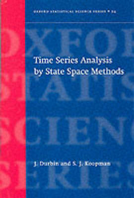 Time Series Analysis by State Space Methods by James Durbin
