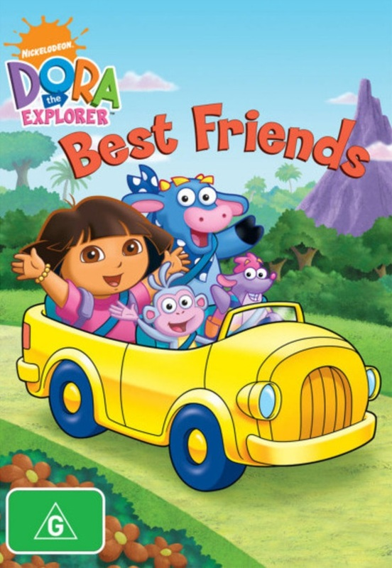 Dora the Explorer - Best Friends on DVD
