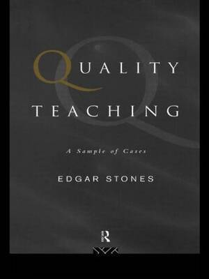 Quality Teaching by Edgar Stones image