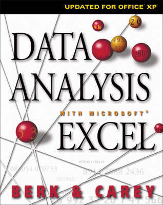 Data Analysis with Microsoft Excel by K. Berk image