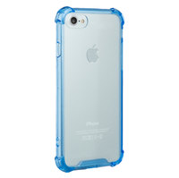 NVS Clear Shield Case (drop tested) for iPhone 7 (Blue)
