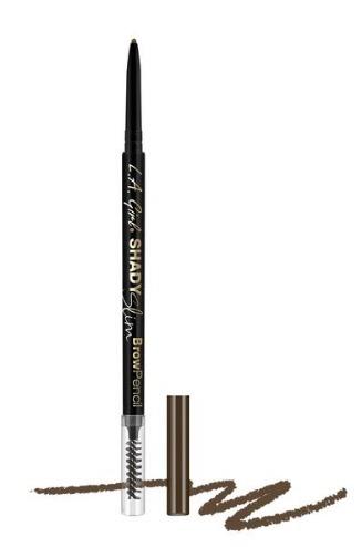 LA Girl Shady Slim Brow Pencil - Medium Brown