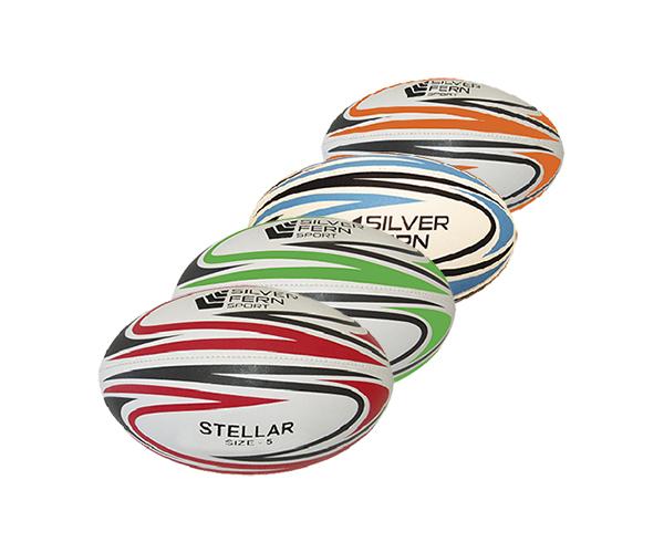Silver Fern Stellar Rugby Ball (Size 5) image