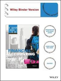 Financial Accounting 9E Binder Ready Version by Jerry J. Weygandt