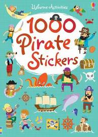 1000 Pirate Stickers by Lucy Bowman