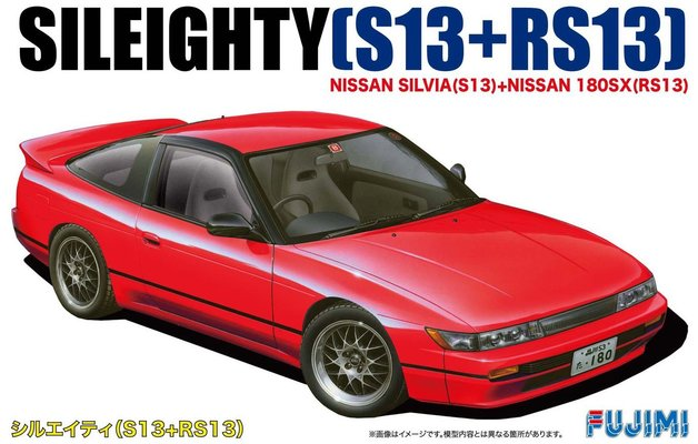 Fujimi: 1/24 Nissan New Sileighty (S13 + RS13) - Model Kit