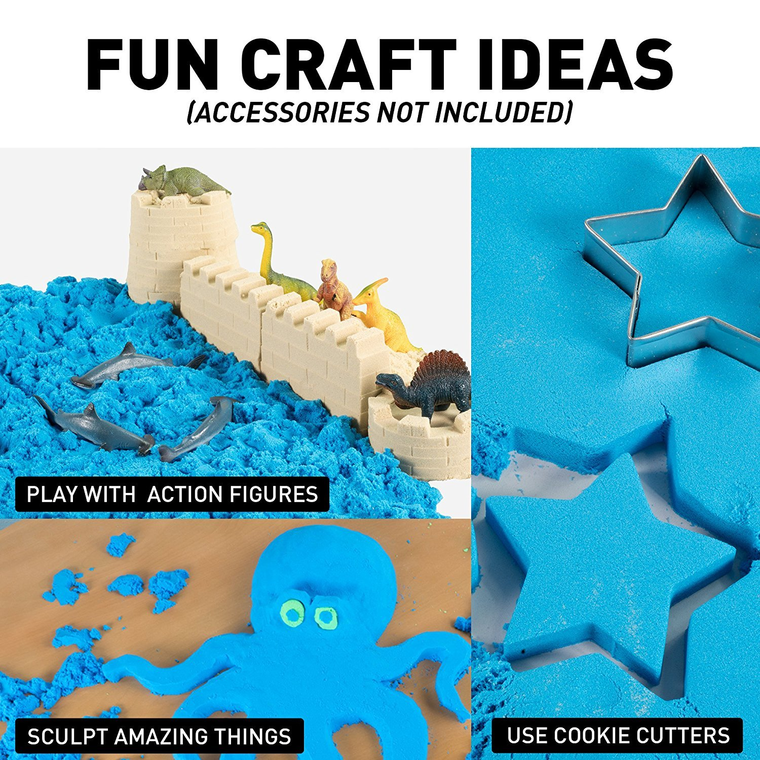 National Geographic: Ultimate Play Sand - (Blue) image
