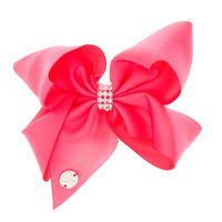 JoJo Siwa Rinestone Bow - Dark Pink
