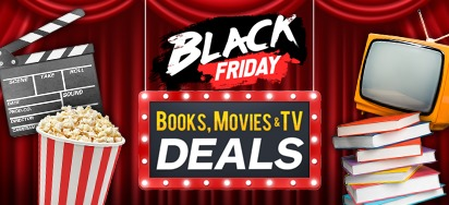 Black Friday - Cyber Monday Books, Movies & TV Deals!