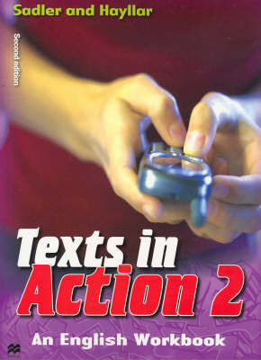 Texts in Action: Bk. 2 by Rex K. Sadler image