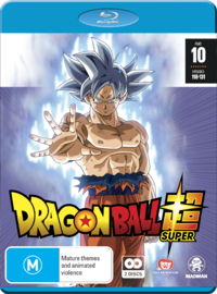 Dragon Ball Super - Part 10 (Eps 118-131) on Blu-ray