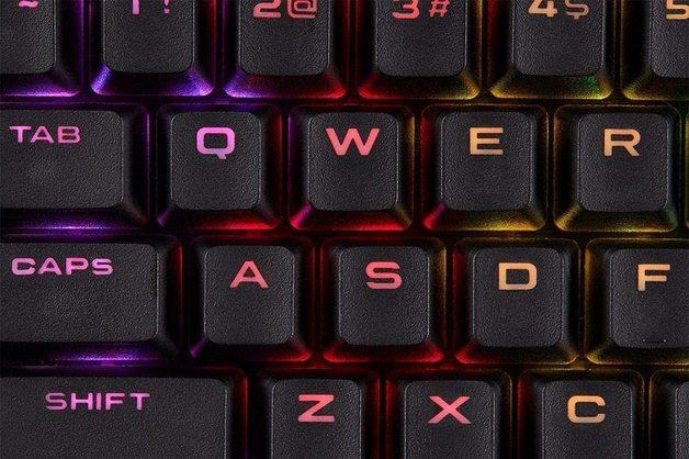 Corsair PBT Double-shot Keycaps - Black for PC