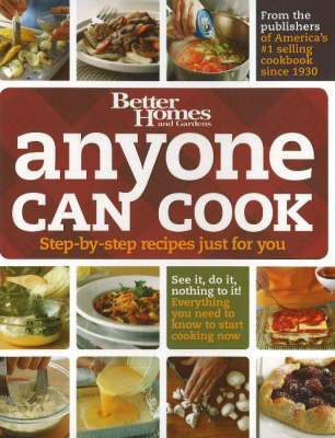 Anyone Can Cook: Step-by-Step Recipes Just for You by Tricia Laning