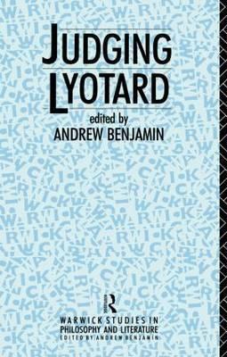 Judging Lyotard