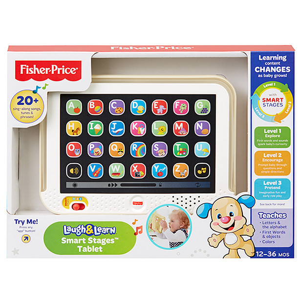 Fisher-Price: Laugh & Learn Smart Stages Tablet - Gold