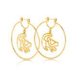 Disney Couture The Lion King Simba Earrings