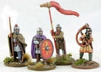 Gripping Beast: Late Roman - Infantry Command #2 (4pc)