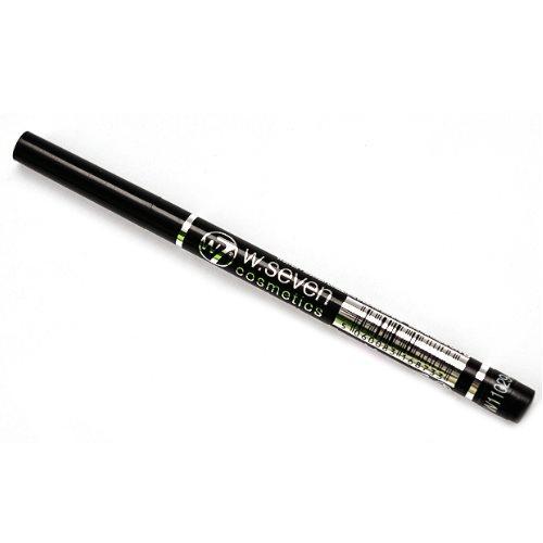 W7 Automatic Felt Eye Liner Pen (Black, Waterproof)