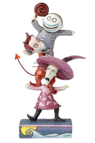 Nightmare Before Christmas: Disney Traditions - Lock, Shock, and Barrel - Triple Trouble Statue