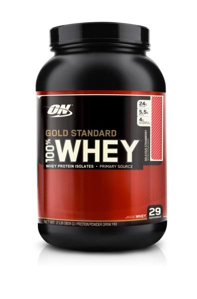 Optimum Nutrition Gold Standard 100% Whey - Strawberry (907g) image